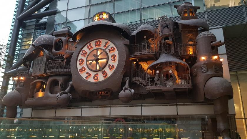 Ghibli clock