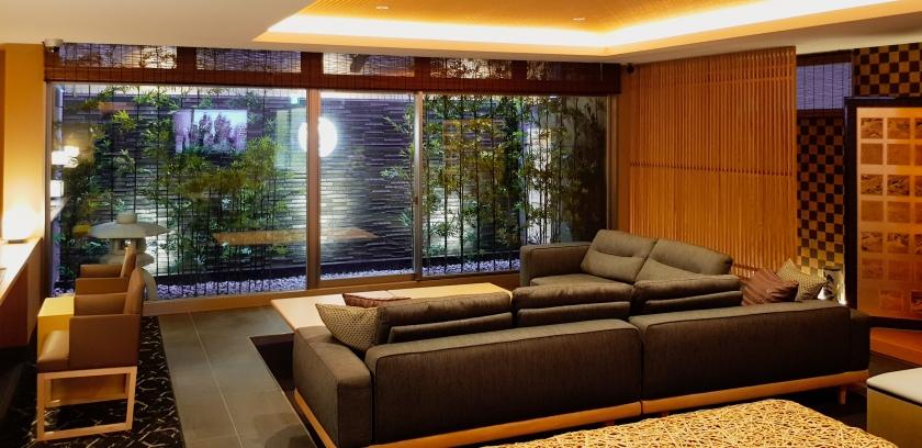 Nagi Kyoto Sanjo Hotel reception area