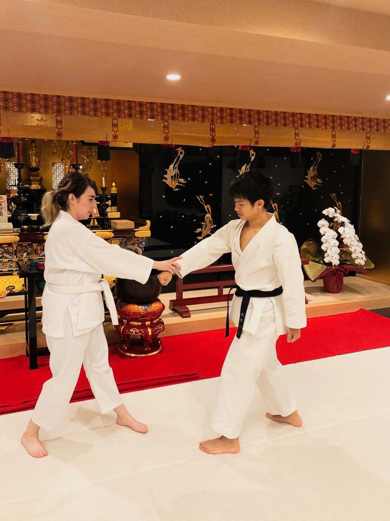 Karate Dojo waKu Tokyo Japan