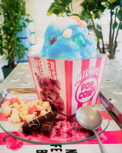 Shaved ice from Vixen cafe Shibuya