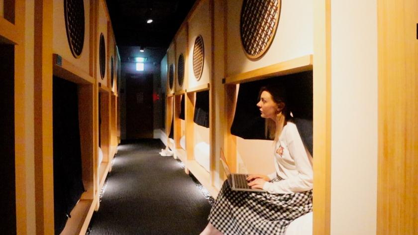 Hotel Zen Tokyo, Zen Pods MariannaVlogs
