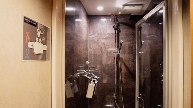Hotel Zen Tokyo, Showers
