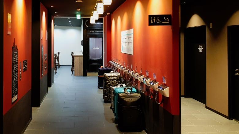 Henn Na Hotel Asakusa reception