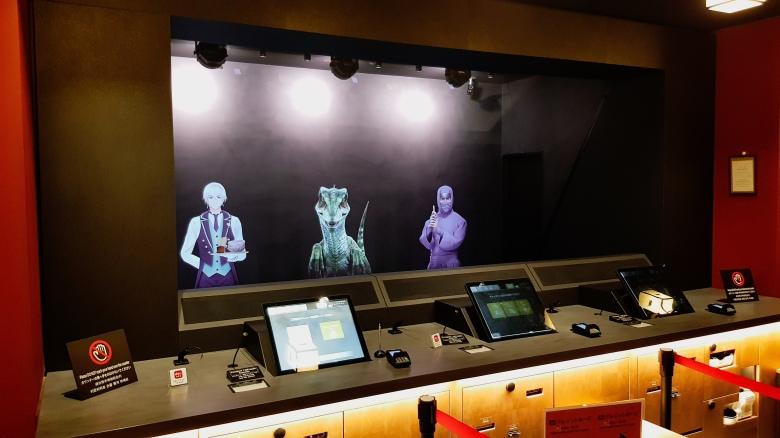 Henn Na Hotel Asakusa Holographic hosts