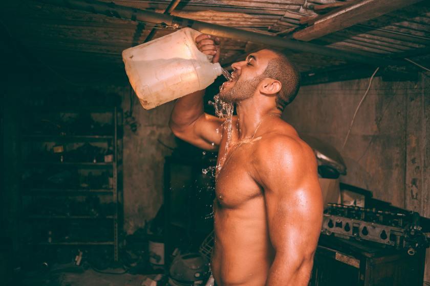 Lockdown workout male